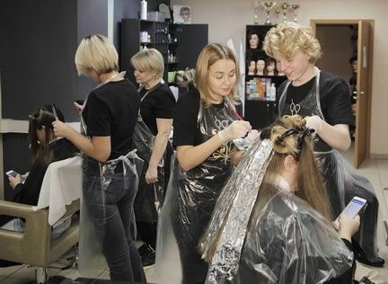 кур парикмахер модельер стилист