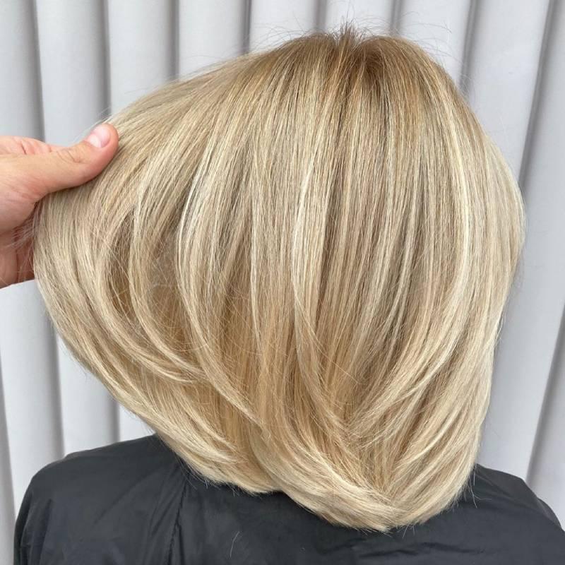 Аиртач на коротких волосах