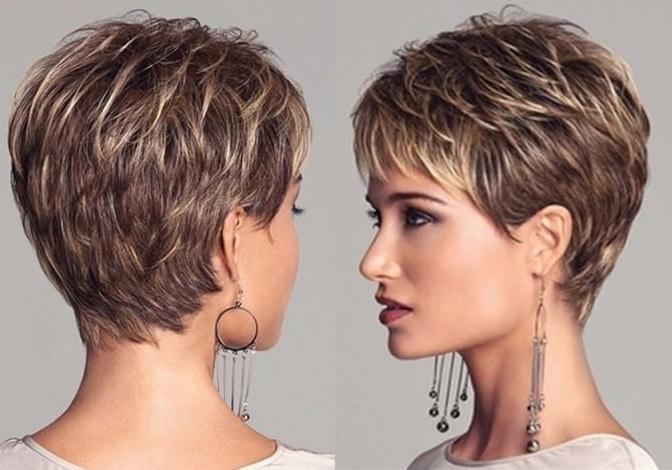 Мелирование на короткие волос