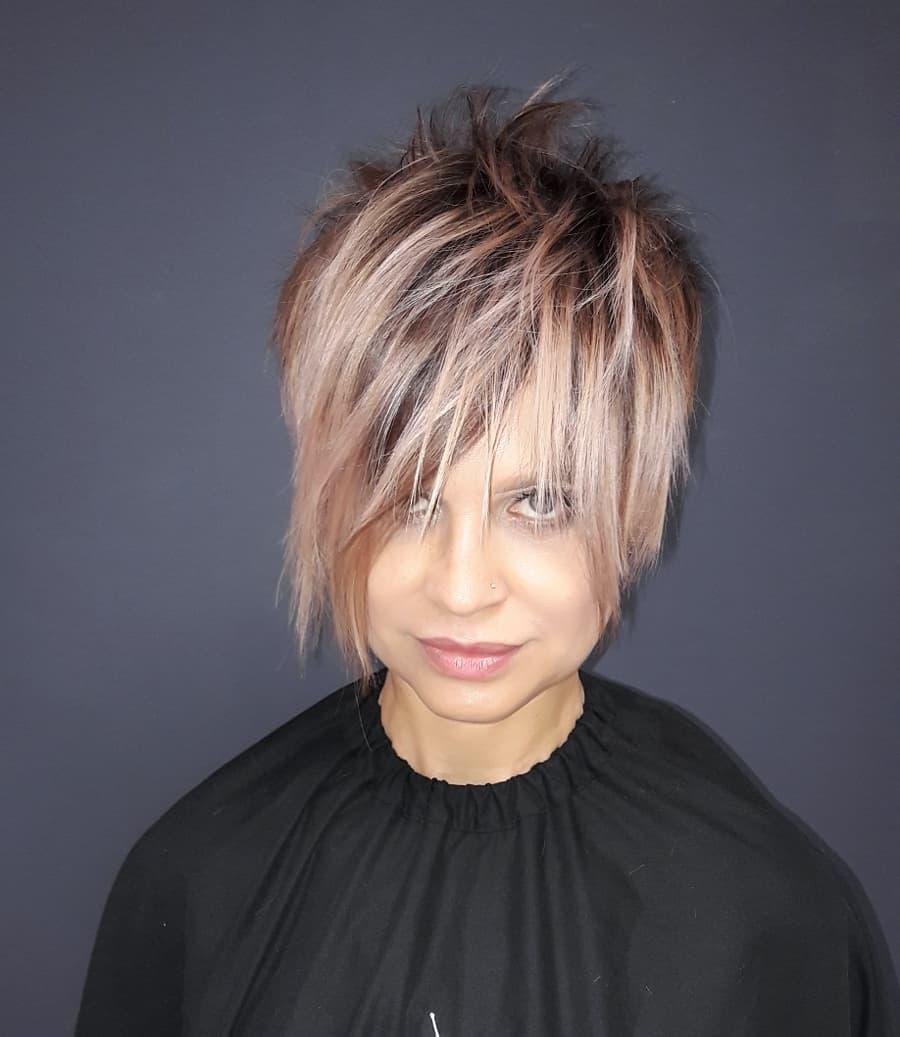 Блок –  Стрижки на короткие волосы