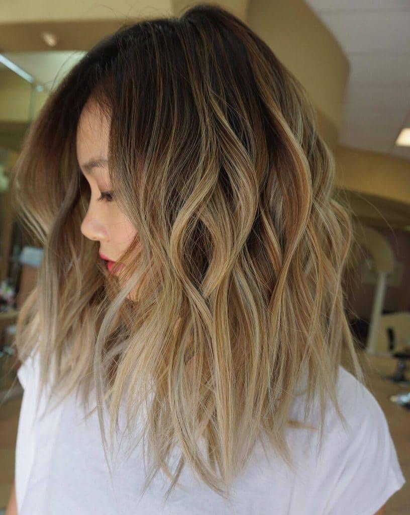 создаст эффект выгоревших волос