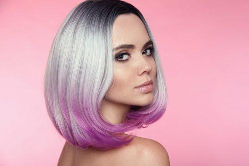 Омбре на каре: эффектные техники окрашивания волос